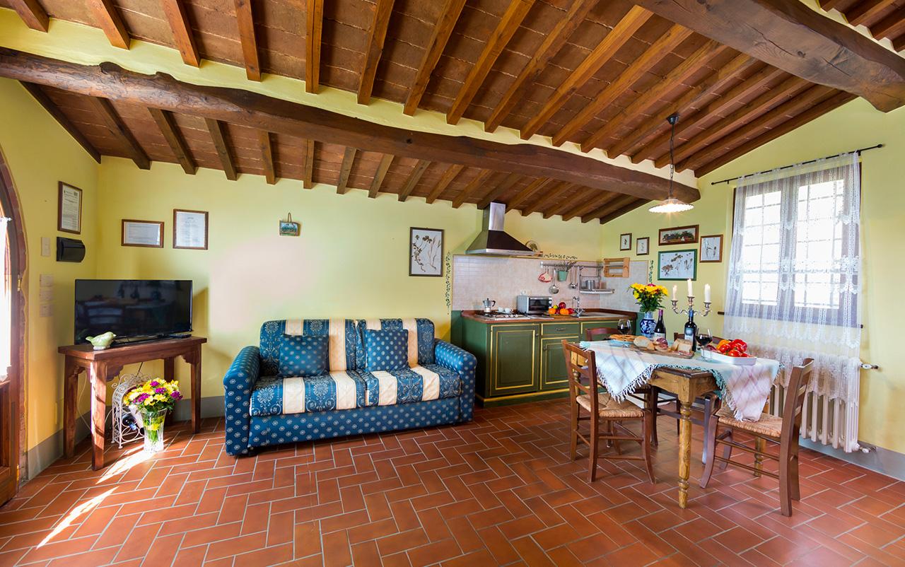 Appartamento Olivo - Agriturismo in Toscana ad Arezzo